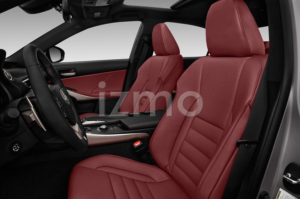Front seat view of 2017 Lexus IS F-Sport-Line 4 Door Sedan Front Seat  car photos