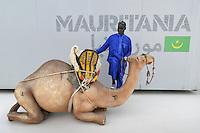 - Milano, Esposizione Mondiale Expo 2015, cluster tematico zone aride, padiglione della Mauritania<br /> <br /> - Milan, the World Exhibition Expo 2015, thematic cluster of arid areas, pavilion of Mauritania