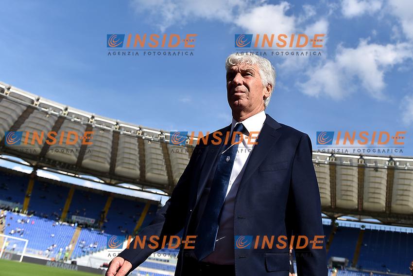 Gian Piero Gasperini coach of Atalanta BC <br /> Roma 19-10-2019 Stadio Olimpico <br /> Football Serie A 2019/2020 <br /> SS Lazio - Atalanta<br /> Foto Andrea Staccioli / Insidefoto