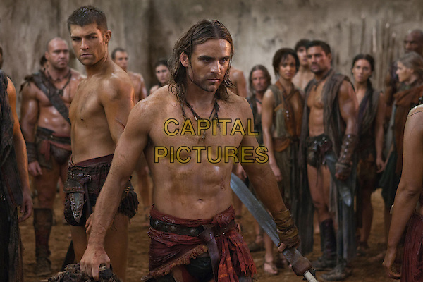 LIAM MCINTYRE, DUSTIN CLARE.in Spartacus: Vengeance (Spartacus: Blood and Sand).*Filmstill - Editorial Use Only*.CAP/FB.Supplied by Capital Pictures.