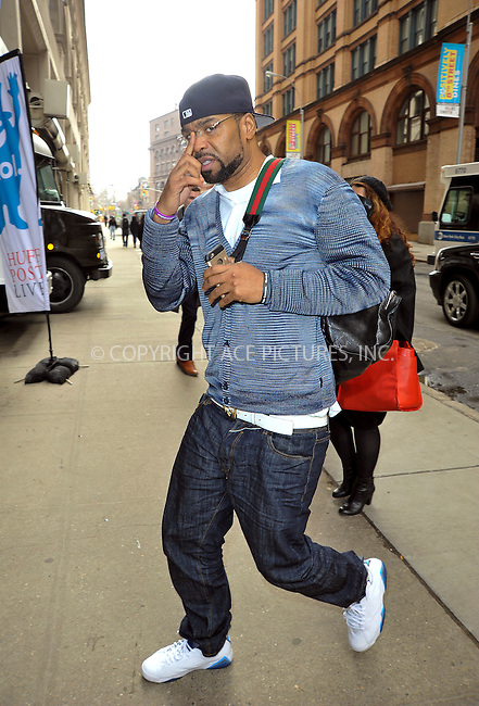 WWW.ACEPIXS.COM<br /> <br /> March 13 2015, New York City<br /> <br /> Hip-hop artist Method Man out and about in Manhattan on March 13 2015 in New York City.<br /> <br /> <br /> Please byline: Curtis Means/ACE Pictures<br /> <br /> ACE Pictures, Inc.<br /> www.acepixs.com, Email: info@acepixs.com<br /> Tel: 646 769 0430