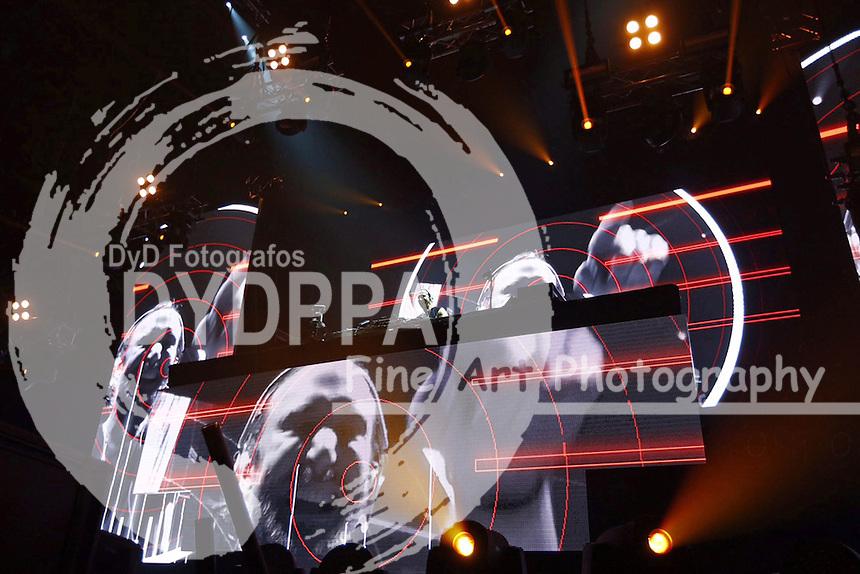 David Guetta live in der O2 World Arena. Hamburg, 26.06.2015