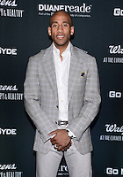NEW YORK, NY - JUNE 12: Dahntay Jones pictured at the GO N'SYDE 40/40 Bottle  Launch Party at the 40/40 club in New York City ,June 12, 2014 © HP/Starlitepics.