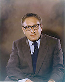 Washington, D.C. - January 26, 1973 -- Portrait of Doctor Henry A. Kissinger taken in Washington, D.C. on January 26, 1973.  At the time, Kissinger was National Security Advisor to United States President Richard M. Nixon.<br /> Credit: White House via CNP