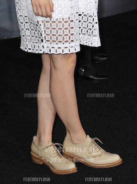 """Saoirse Ronan at the world premiere of """"The Twilight Saga: Breaking Dawn - Part 2"""" at the Nokia Theatre LA Live..November 12, 2012  Los Angeles, CA.Picture: Paul Smith / Featureflash"""