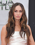 Megan Fox  attends The Paramount Pictures and Nickelodeon Movies Los Angeles premiere of TEENAGE MUTANT NINJA TURTLES at the Regency Village Theater in Westwood, California on August 03,2014                                                                               © 2014 Hollywood Press Agency