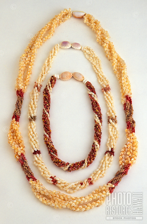 Niihau shell necklaces