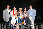 Launch<br /> ----------<br /> Pictured at the official launch of the Causeway comprehensive secondary school 2015 year book last Thusday night in the school were (seated) Lucille O'Sullivan (principal) and Colm McEvoy,CEO Kerry education training board (back) L-R John O'Shea,Annmarie Hassett,Emer O'Brien,Margaret O'Mahon and Timothy Leahy.