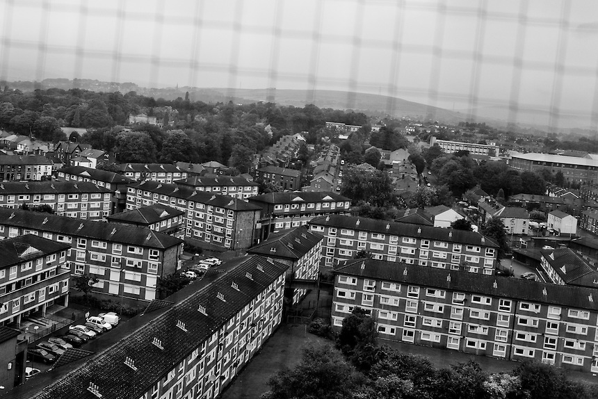 Lower Falinge Estate, Rochdale.