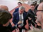 England's Roy Hodgson gets interviewed by the press after the International Friendly match at Olympiastadion.  Photo credit should read: David Klein/Sportimage