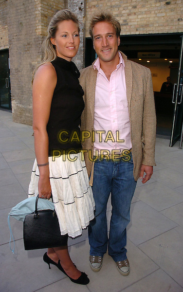 BEN FOGLE & GUEST.At The Roundhouse Re-Opening & Gala Night,.London, England, June 5th 2006..full length funny face.Ref: CAN.www.capitalpictures.com.sales@capitalpictures.com.©Can Nguyen/Capital Pictures