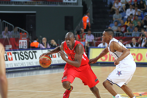 06.09.2010. Istanbul, Turkey. World Championship Basketball, United States of America versus Angloa. FELIZARDO ABROSIO