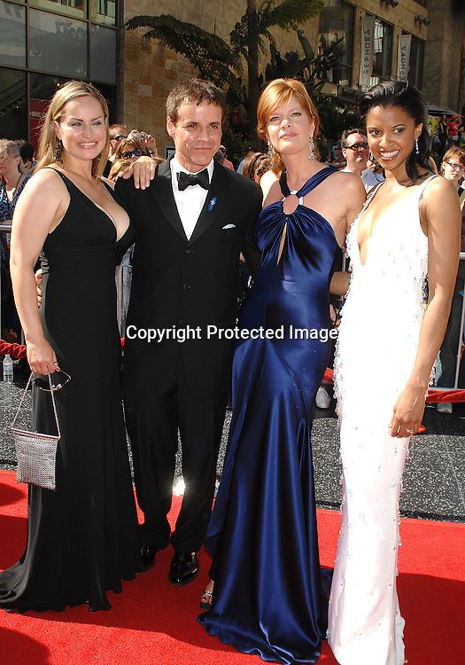 Crystal Chappell. Christian LeBlanc, Michelle Stafford and ..Renee Goldsberry..arriving at The 34th Annual Daytime Emmy Awards on ..June 15, 2007 at The Kodak Theatre in Hollywood, California. ..Robin Platzer, Twin Images......212-935-0770