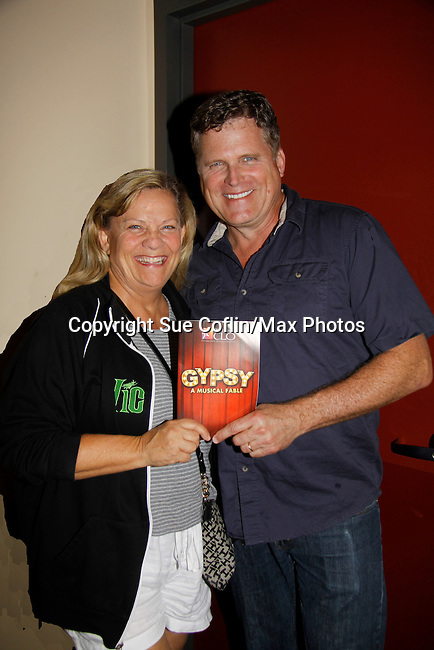 """Guiding Light Kim Zimmer """"Rose"""" and Robert Newman """"Herbie"""" star in Gypsy on July 14, 2015 at Pittsburgh CLO Theatre, Pittsburgh, PA. (Photos by Sue Coflin/Max Photos)"""
