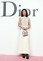 Reiko Takagaki, Jun 16, 2015 : Tokyo, Japan - Model Reiko Takagaki attends a photocall for the Christian Dior 2015-16 Ready to Wear collection in Tokyo, Japan. (Photo by AFLO)