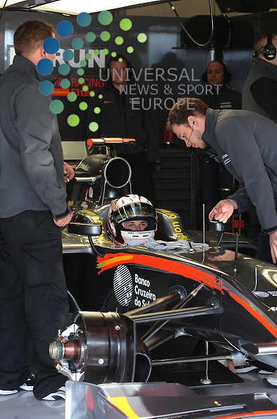 F1 GP of Spain, Barcelona 06.-09. May 2010.Christian Klien (AUT), Test Driver, Hispania Racing F1 Team ..Picture: Hasan Bratic/Universal News And Sport (Europe) 7 May 2010.