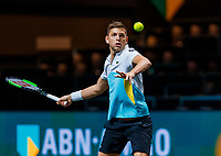 Rotterdam, The Netherlands, 11 Februari 2020, ABNAMRO World Tennis Tournament, Ahoy, <br /> Filip Krajinovic (SRB)<br /> Photo: www.tennisimages.com