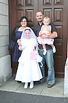 Kate Dreelin and family at the St. Brigid's Communion in the Lourdes Church..Photo NEWSFILE/Jenny Matthews.(Photo credit should read Jenny Matthews/NEWSFILE)....This Picture has been sent you under the condtions enclosed by:.Newsfile Ltd..The Studio,.Millmount Abbey,.Drogheda,.Co Meath..Ireland..Tel: +353(0)41-9871240.Fax: +353(0)41-9871260.GSM: +353(0)86-2500958.email: pictures@newsfile.ie.www.newsfile.ie.FTP: 193.120.102.198.