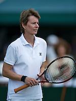 England, London, 28.06.2014. Tennis, Wimbledon, AELTC, Helena Sukova (CZE)<br /> Photo: Tennisimages/Henk Koster