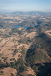 Amador aerials, California..Pardee Reservoir and Bear Mountains in Calaveras Co.