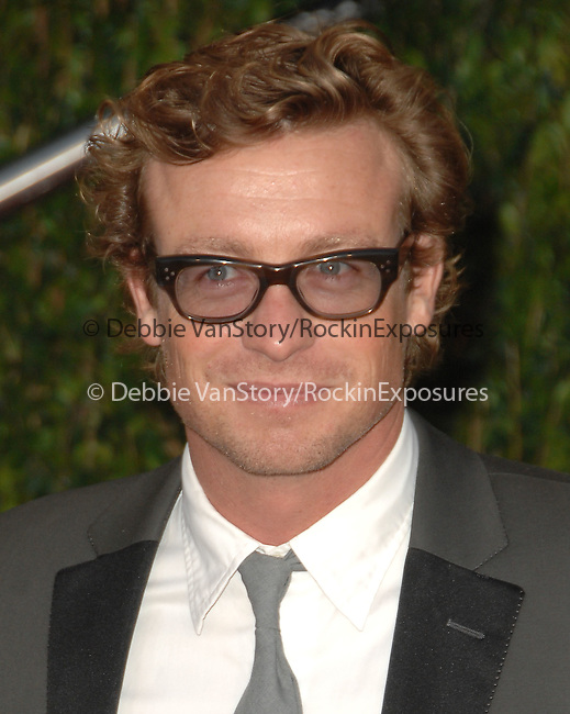 Simon Baker attends The 2010 Vanity Fair Oscar Party held at The Sunset Tower Hotel in West Hollywood, California on March 07,2010                                                                                       © 2010 DVS / RockinExposures..