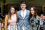 Muireann Dillane, Donnagh McKivergan abd Ciara Johnson  at the John Mitchels GAA 'Strictly Come Dancing' at Ballygarry House Hotel on Sunday night.