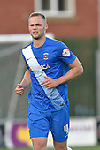 11/08/2015 Capital One Cup, First Round Fleetwood Town v Hartlepool United<br /> Harry Worley, Hartlepool United