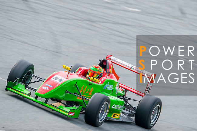 William Lok of Hong Kong and Eurasia Motorsport drives the Formula Masters China Series as part of the 2015 Pan Delta Super Racing Festival at Zhuhai International Circuit on September 20, 2015 in Zhuhai, China.  Photo by Aitor Alcalde/Power Sport Images