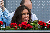 during the ATP final of Mutua Madrid Open Tennis 2017 at Caja Magica in Madrid, May 14, 2017. Spain. /NortePhoto.com
