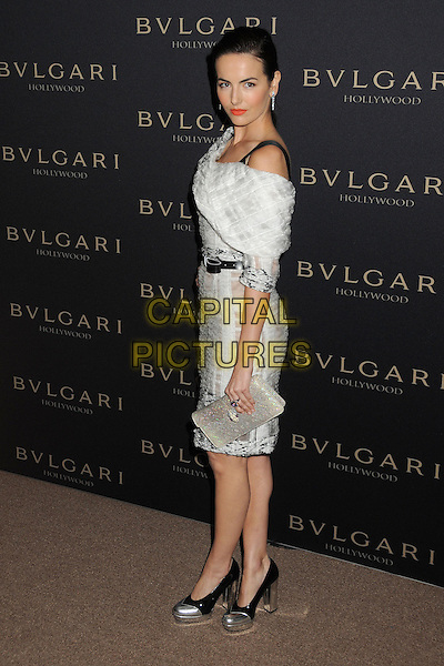 LOS ANGELES, CA - FEBRUARY 25 - Camilla Belle. BVLGARI &quot;Decades of Glamour&quot; Oscar Party held at Soho House on 25th February 2014.<br /> CAP/ADM/BP<br /> &copy;Byron Purvis/AdMedia/Capital Pictures