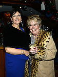 Jean Minogue and Eileen Finnegan pictured at Tom Minogue's 80th birthday in Ardee golf club. Photo:Colin Bell/pressphotos.ie