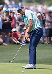 Adam Thielen during the American Century Championship at Edgewood Tahoe Golf Course in Stateline, Nevada, Sunday, July 15, 2018.