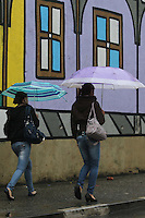 SAO PAULO, SP, 23.09.2013 - CLIMA TEMPO  / SAO PAULO - Tarde de chuva no bairro da Mooca regiao leste da cidade de Sao Paulo, nesta segunda-feira,23.(Foto: Vanessa Carvalho / Brazil Photo Press).