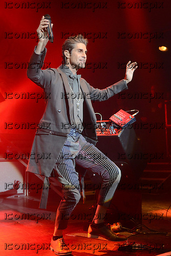Jane's Addiction - vocalist Perry Farrell performing live at Koko in London UK - 30 Aug 2011.  Photo credit: George Chin/IconicPix