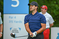 Tony Romo (a) (USA) watches his tee shot on 5 during round 1 of the AT&T Byron Nelson, Trinity Forest Golf Club, Dallas, Texas, USA. 5/9/2019.<br /> Picture: Golffile | Ken Murray<br /> <br /> <br /> All photo usage must carry mandatory copyright credit (© Golffile | Ken Murray)