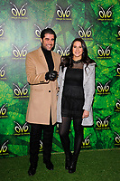 LONDON, ENGLAND - JANUARY 10: Matt Johnson and Kat Shoob attending 'Cirque du Soleil - OVO' at the Royal Albert Hall on January 10, 2018 in London, England.<br /> CAP/MAR<br /> &copy;MAR/Capital Pictures