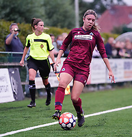 20200723, BEVEREN ,  BELGIUM : Brugge's Talitha De Groote pictured during a friendly soccer game between Bosdam Beveren and Club Brugge YLA Dames  in the preparations for the coming season 2020 - 2021 of Belgian Women's SuperLeague ,23 th of July 2020  in Beveren , Belgium . PHOTO SPORTPIX.BE | SEVIL OKTEM