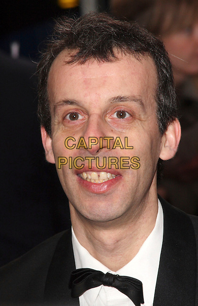 GUEST .British Comedy Awards 2009 held at the ITV Studios, South Bank, London,.December 12th 2009..portrait headshot black bow tie .CAP/JIL.©Jill Mayhew/Capital Pictures
