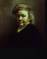 Rembrandt:  Last self-portrait 1669.  Rijksmuseum, Amsterdam.  Reference only.