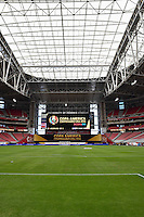 Glendale, AZ - Wednesday June 08, 2016:  during a Copa America Centenario Group B match between Ecuador (ECU) and Peru (PER) at University of Phoenix Stadium.
