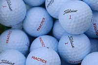 Practice balls on the range during previews for the Shot Clock Masters, Diamond Country Club, Atzenbrugg, Vienna, Austria. 05/06/2018<br /> Picture: Golffile | Phil Inglis<br /> <br /> All photo usage must carry mandatory copyright credit (&copy; Golffile | Phil Inglis)