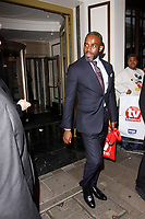 LONDON, ENGLAND - SEPTEMBER 10 :  Charles Venn leaves the TV Choice Awards 2018, at The Dorchester hotel, on September 10, 2018 in London, England.<br /> CAP/AH<br /> &copy;AH/Capital Pictures