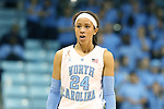 11 November 2013: North Carolina's Jessica Washington. The University of North Carolina Tar Heels played the University of Tennessee Lady Vols in an NCAA Division I women's basketball game at Carmichael Arena in Chapel Hill, North Carolina. Tennessee won the game 81-65.