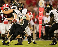 Athens, Georgia - October 6, 2018: Sanford Stadium, the number 2 ranked University of Georgia Bulldogs vs Vanderbilt University Commodores.  Final score Georgia 41, Vanderbilt 13.