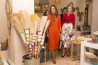 Queen Mathilde of Belgium & Queen Rania of Jordan at ' River Foundation ' in Amman - Jordan