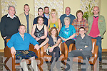 Pat McGowan and Sean McDonagh, Laharn Faha, Killarney, pictured with Mary Ann McGowan, Adrian McGowan, Ciaran McDonagh, Jane McGowan, Mark McGowan, PJ McDonagh, Lisa McDonagh, Calum McDonagh, Aine McDonagh, Jean McGowan and Colman McDonagh, as they celebrated their 40th and 18th birthdays respectively, in The Malton hotel, Killarney, on Saturday night.