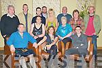 Pat McGowan and Sean McDonagh, Laharn Faha, Killarney, pictured with Mary Ann McGowan, Adrian McGowan, Ciaran McDonagh, Jane McGowan, Mark McGowan, PJ McDonagh, Lisa McDonagh, Calum McDonagh, Aine McDonagh, Jean McGowan and Colman McDonagh, as they celebrated their 40th and 18th birthdays respectively, in The Malton hotel, Killarney, on Saturday night.