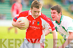 St Kieran's Mike Finnegan and West Kerry's Jason Hickson.