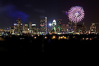 Austin July 4th Independence Day Fireworks display