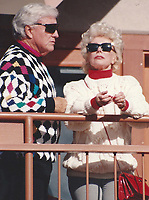 1992 <br /> Merv Griffin Eva Gabor<br /> Photo By John Barrett-PHOTOlink.net/MediaPunch